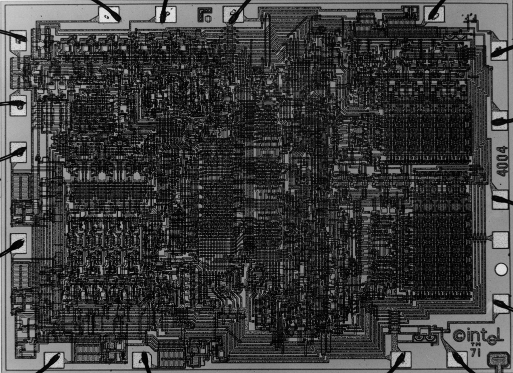 The Story of the Intel 4004
