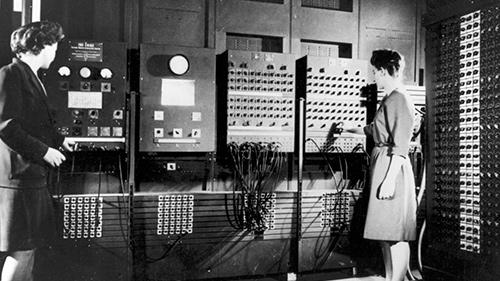 نتيجة بحث الصور عن ENIAC computer